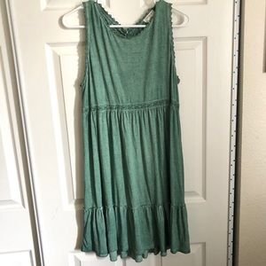 Umgee | Green Swing Dress